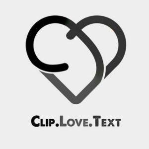 clip.love.text